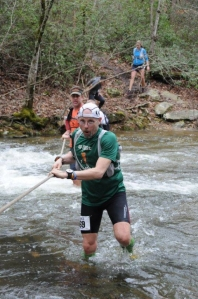 Cold creek crossing at Mt Cheaha 50K in 2013