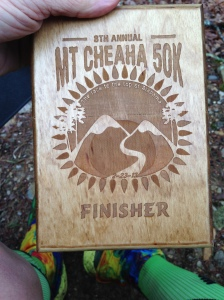 Cool finisher's plaque