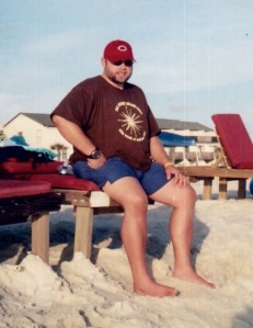 In 2002, at what is likely my heaviest: 262 lbs. I'm 5'7''