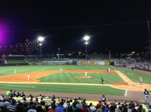 Regions Park, the NEW Home of the Barons. A big step up from Rickwood Field in the 1980s