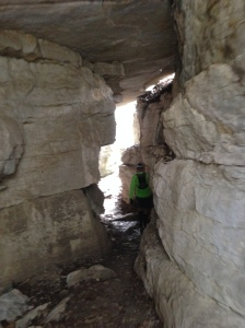 Cool caves on the course.  Not easy running at all.
