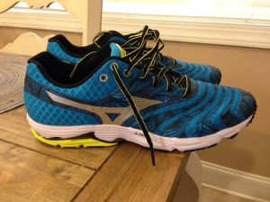 Mizuno Wave Sayonara. Back in Mizuno after 4 years in Brooks