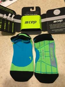 CEP's Dynamic+ No Show Compression socks