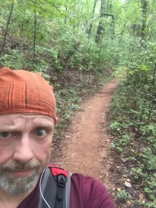 """There were some """"flat"""" sections of the trail that were nice and runnable."""